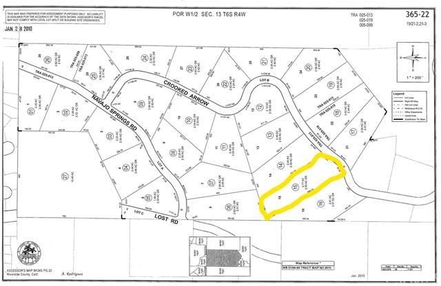 0 Crooked Arrow Drive, Wildomar, CA 92595 (#OC21168803) :: San Diego Area Homes for Sale