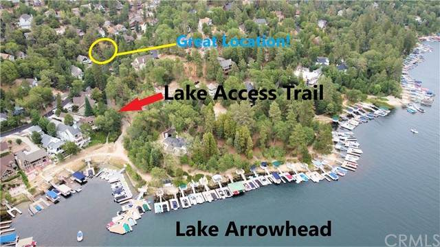 27746 W Shore, Lake Arrowhead, CA 92352 (#EV21168810) :: San Diego Area Homes for Sale