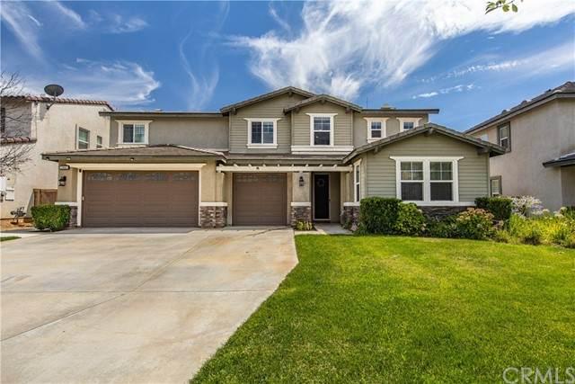 33665 Wild Horse Way, Yucaipa, CA 92399 (#EV21170061) :: Solis Team Real Estate