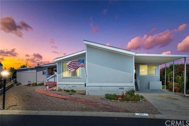650 S Rancho Santa Fe #287, San Marcos, CA 92078 (#SW21166608) :: SunLux Real Estate