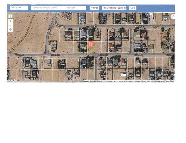 0 Karen, California City, CA 93505 (#CV21183799) :: Windermere Homes & Estates