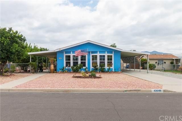 43649 Jared Lane, Hemet, CA 92544 (#SW21183026) :: Solis Team Real Estate
