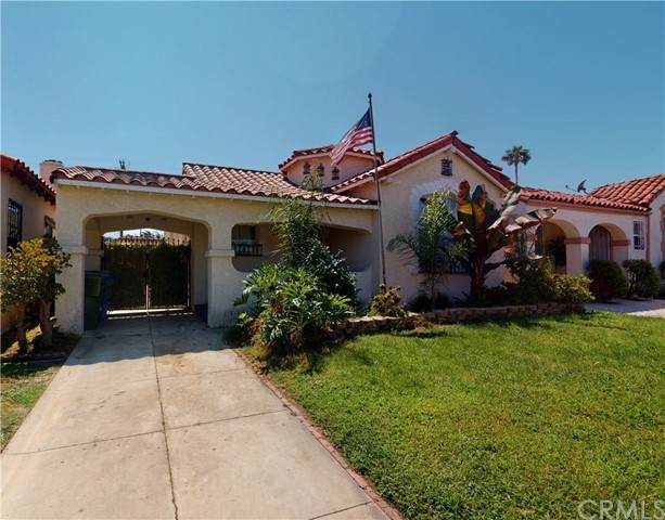1124 W 81st Place, Los Angeles, CA 90044 (#SB21191969) :: Keller Williams - Triolo Realty Group