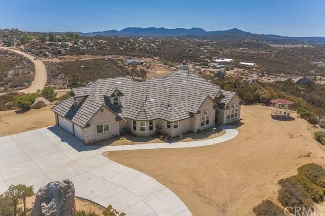 42095 Crazy Horse Canyon Road, Aguanga, CA 92536 (#SW21164701) :: Rubino Real Estate