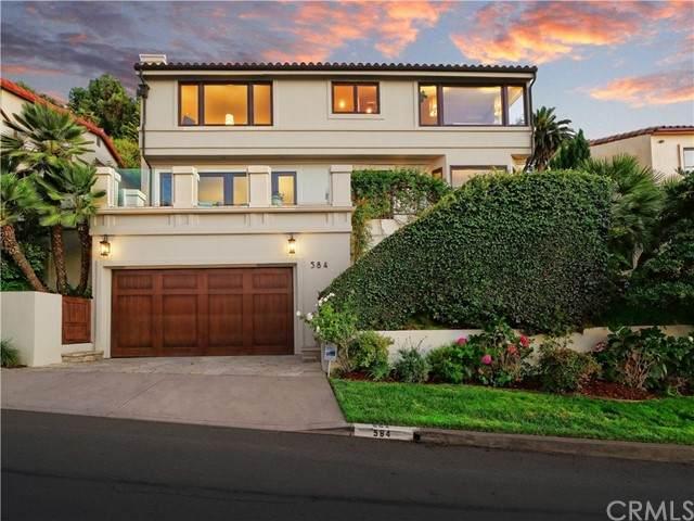 584 Via Almar, Palos Verdes Estates, CA 90274 (#PV21199085) :: COMPASS