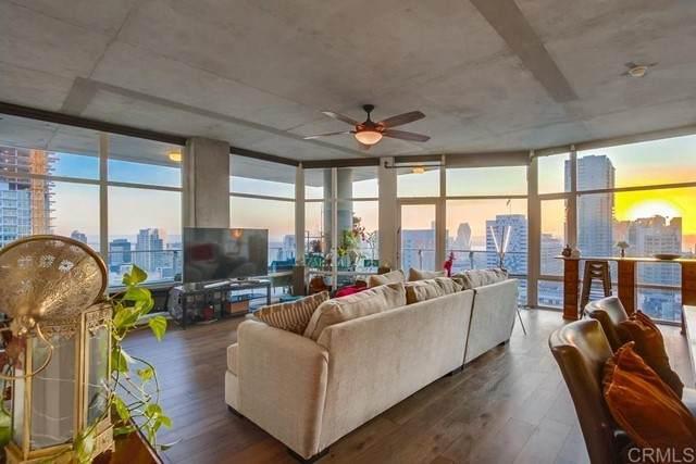 1080 Park Blvd #1801, San Diego, CA 92101 (#NDP2110539) :: Windermere Homes & Estates