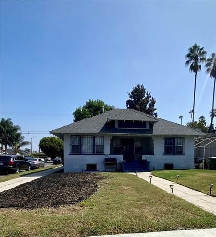 5100 S Gramercy Place, Los Angeles, CA 90062 (#DW21205181) :: Windermere Homes & Estates