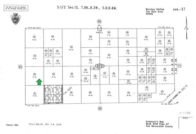 0 Hodge, Barstow, CA 92311 (#CV21227535) :: SunLux Real Estate