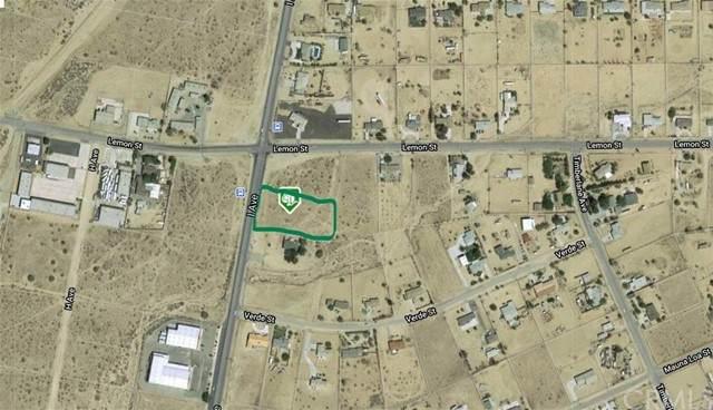 0 Lorraine, North Edwards, CA 93523 (#IV21230440) :: SunLux Real Estate