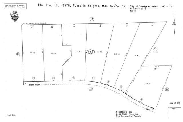 75948 Buena Vista, 29 Palms, CA 92277 (#OC21230117) :: Windermere Homes & Estates