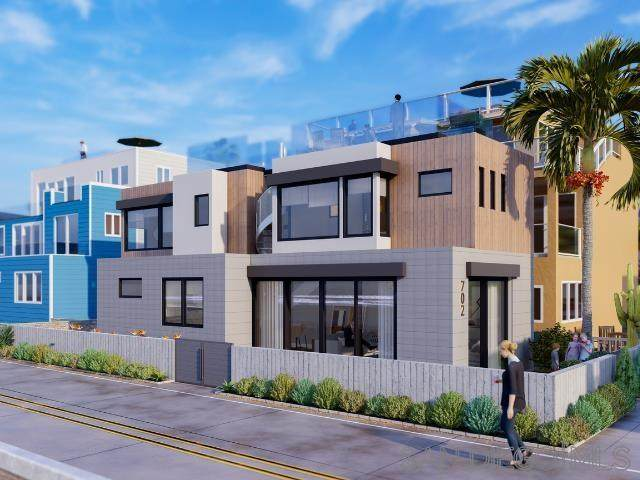 3865 Ocean Front Walk F, San Diego, CA 92109 (#210020515) :: Keller Williams - Triolo Realty Group