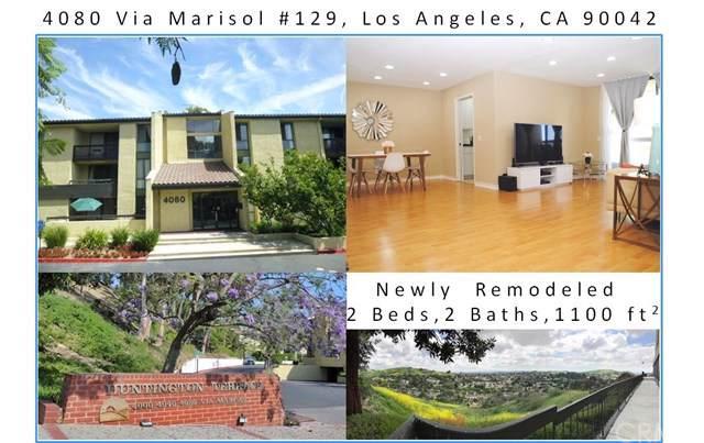 4080 Via Marisol #129, Los Angeles, CA 90042 (#301606452) :: Whissel Realty