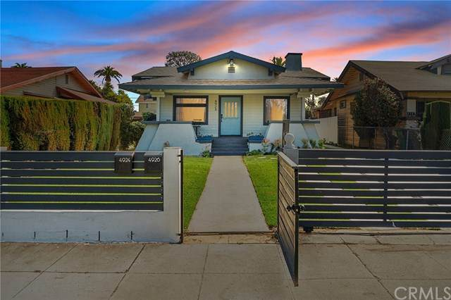 4924 Cimarron Street, Los Angeles, CA 90062 (#OC21068559) :: The Legacy Real Estate Team