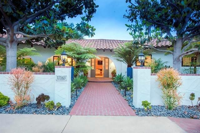 17143 Los Morros, Rancho Santa Fe, CA 92067 (#NDP2106305) :: The Stein Group