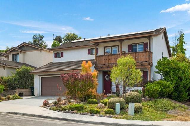 1355 Corte Bagalso, San Marcos, CA 92069 (#NDP2107058) :: The Stein Group