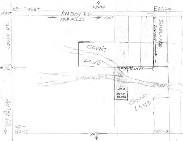 0 Shannon Road, 29 Palms, CA 92277 (#303002048) :: Cay, Carly & Patrick | Keller Williams