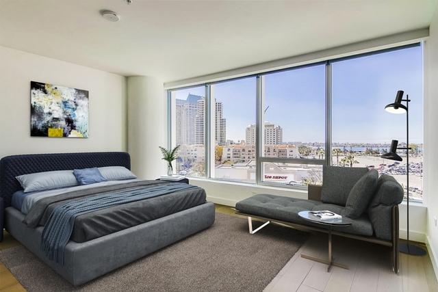 888 W E St #703, San Diego, CA 92101 (#180016378) :: Ghio Panissidi & Associates