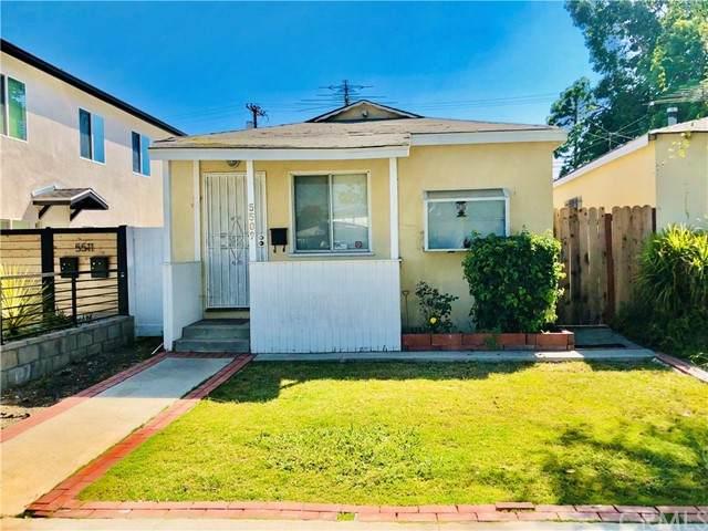 5509 Inglewood Boulevard, Culver City, CA 90230 (#SB21178717) :: The Todd Team Realtors