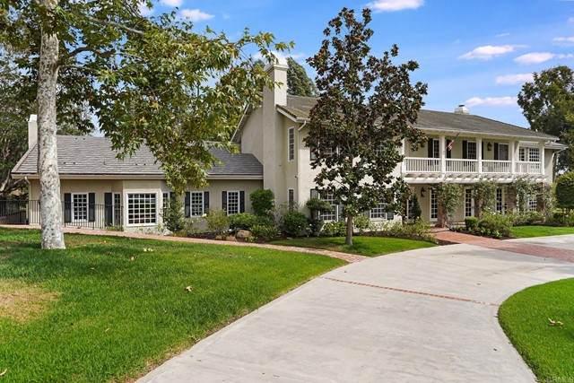 15037 Rancho Santa Fe Farms Road, Rancho Santa Fe, CA 92067 (#NDP2110192) :: Rubino Real Estate