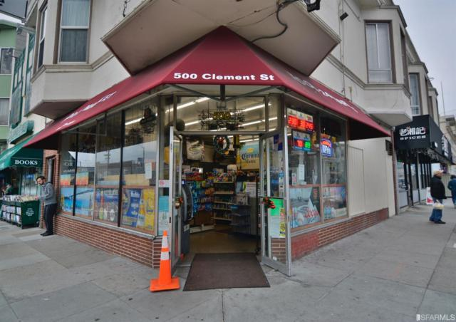 500 Clement Street, San Francisco, CA 94118 (MLS #479405) :: Keller Williams San Francisco