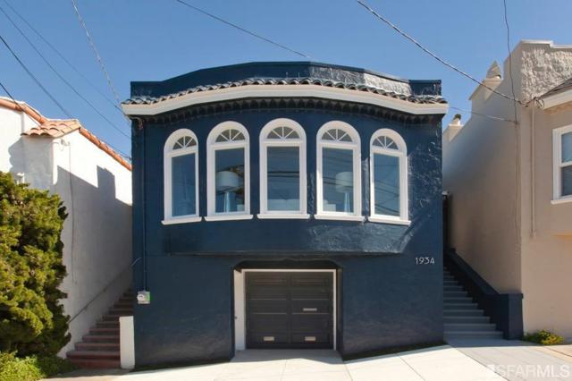 1934 21st Avenue, San Francisco, CA 94116 (MLS #481763) :: Keller Williams San Francisco
