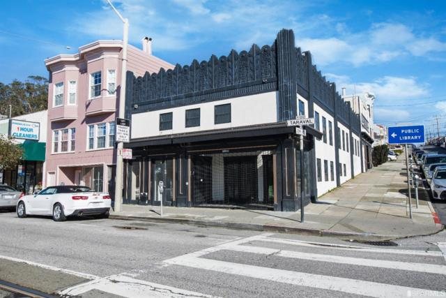1100-1102 Taraval Street, San Francisco, CA 94116 (MLS #482482) :: Keller Williams San Francisco