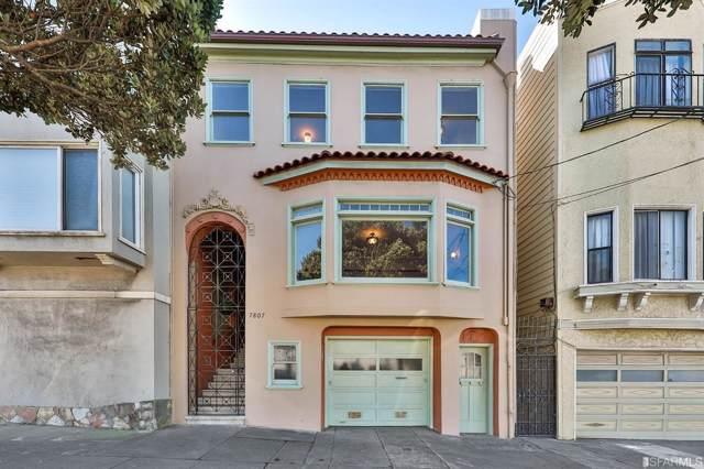 7807 Geary Boulevard, San Francisco, CA 94121 (#490256) :: Maxreal Cupertino