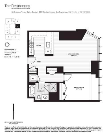301 Mission Street 6D, San Francisco, CA 94105 (MLS #493101) :: Keller Williams San Francisco