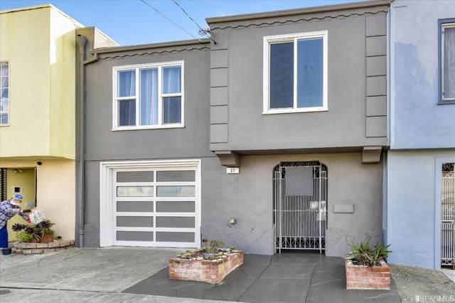 27 Cutler Avenue, San Francisco, CA 94116 (#507080) :: Corcoran Global Living