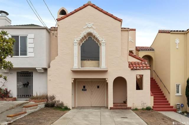2230 27th Avenue, San Francisco, CA 94116 (#507976) :: Corcoran Global Living