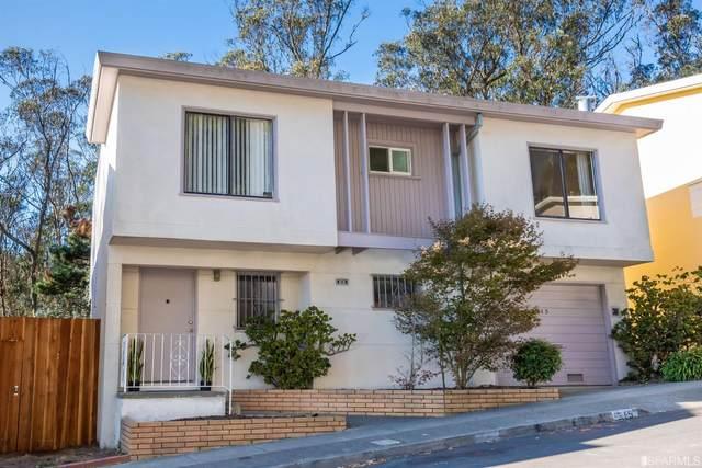 515 Dellbrook Avenue, San Francisco, CA 94131 (#509653) :: Corcoran Global Living