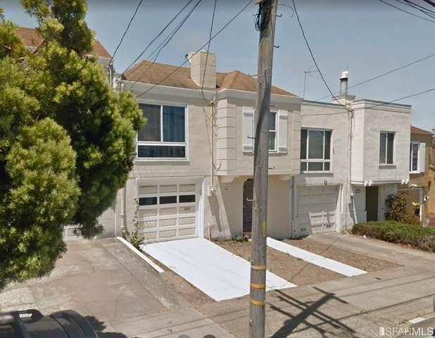 1923 32nd Avenue, San Francisco, CA 94116 (#510355) :: Corcoran Global Living