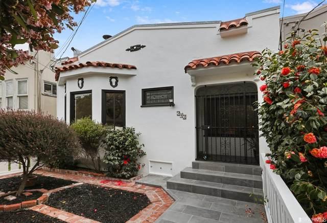 243 Hearst Avenue, San Francisco, CA 94131 (#421541655) :: RE/MAX Accord (DRE# 01491373)