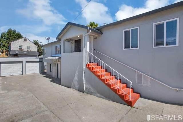 2605 Prentiss Place, Oakland, CA 94601 (#421560495) :: Corcoran Global Living