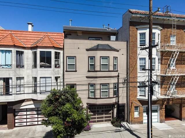 574 26th Avenue #2, San Francisco, CA 94121 (#421564391) :: The Kulda Real Estate Group