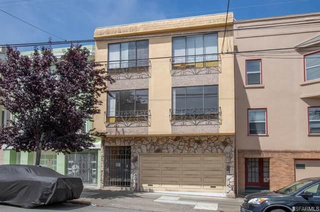 467 21st Avenue, San Francisco, CA 94121 (MLS #421564034) :: Compass