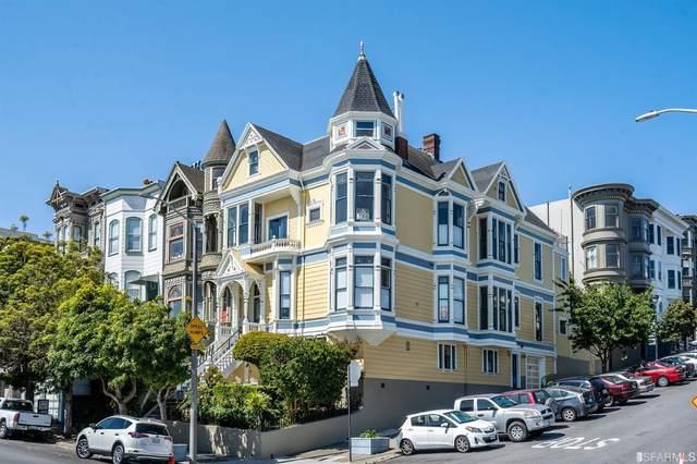 99 Scott Street, San Francisco, CA 94117 (#421563455) :: Corcoran Global Living