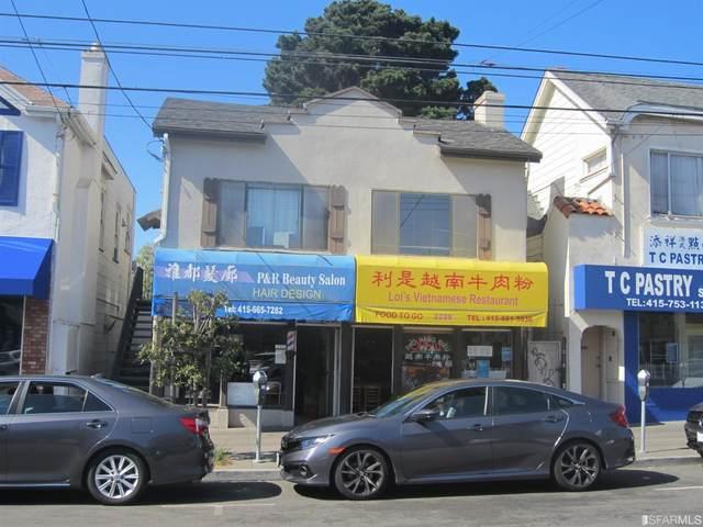 2228 Irving Street, San Francisco, CA 94122 (MLS #421566920) :: Keller Williams San Francisco