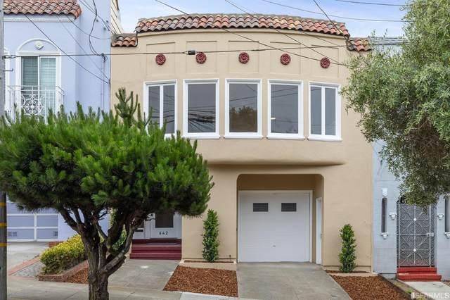 642 43rd Avenue, San Francisco, CA 94121 (MLS #421574487) :: Keller Williams San Francisco