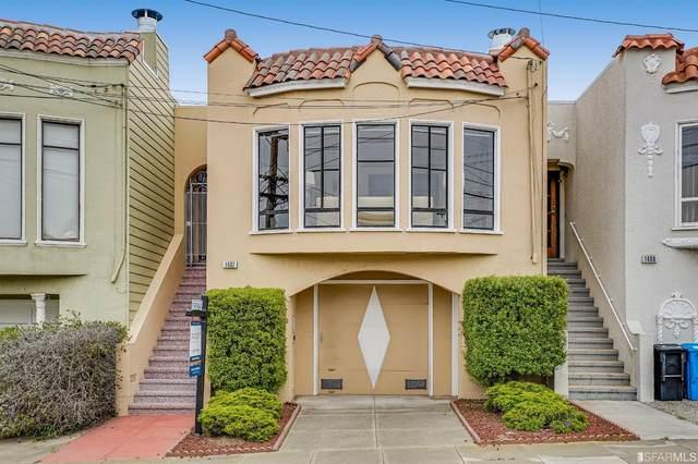 1482 29th Avenue, San Francisco, CA 94122 (MLS #421585843) :: Keller Williams San Francisco