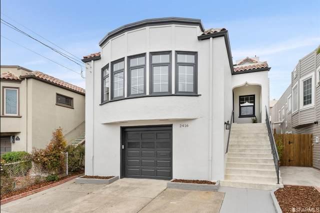 2416 Ulloa Street, San Francisco, CA 94116 (MLS #421592437) :: Keller Williams San Francisco