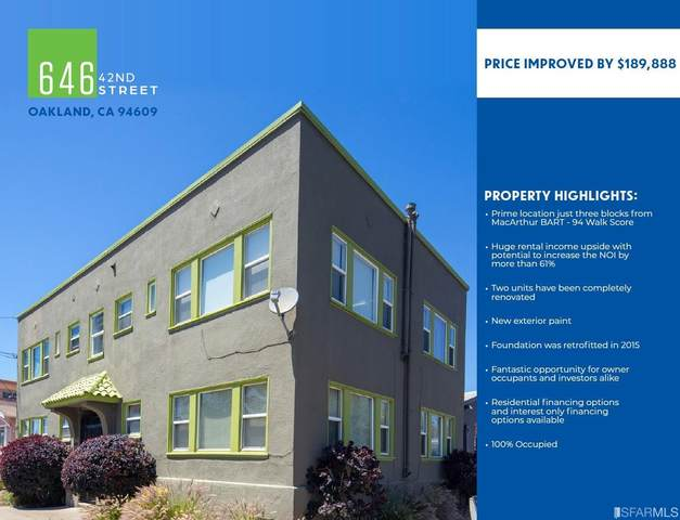 646 42nd St Street, Oakland, CA 94609 (#421593192) :: RE/MAX Accord (DRE# 01491373)