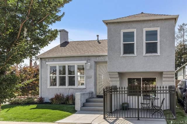4981 Fairfax Avenue, Oakland, CA 94601 (#421595807) :: The Kulda Real Estate Group