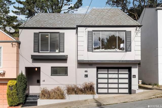 45 Sunview Drive, San Francisco, CA 94131 (#421599900) :: RE/MAX Accord (DRE# 01491373)
