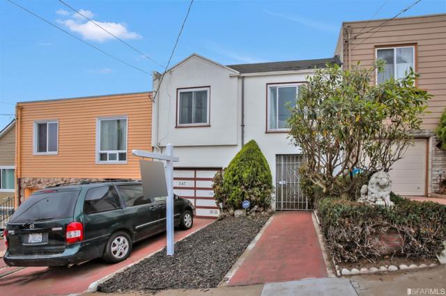 347 Orizaba Avenue, San Francisco, CA 94132 (MLS #474296) :: Keller Williams San Francisco