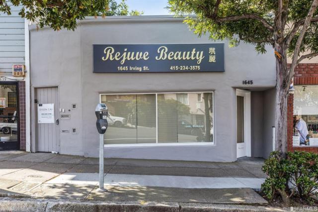 1645 Irving Street, San Francisco, CA 94122 (#484292) :: Maxreal Cupertino