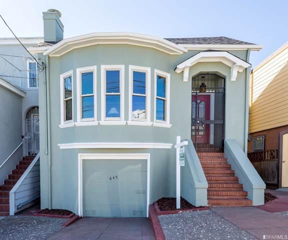 645 42nd Avenue, San Francisco, CA 94121 (MLS #491036) :: Keller Williams San Francisco