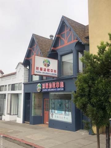 2124-2126 Taraval Street, San Francisco, CA 94116 (#503649) :: Corcoran Global Living