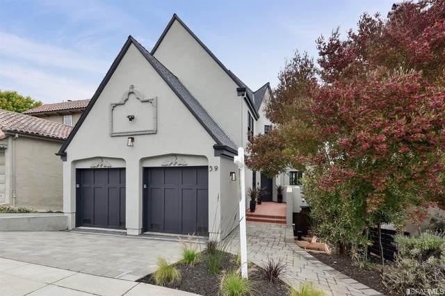 59 Rosewood Drive, San Francisco, CA 94127 (#505920) :: Corcoran Global Living