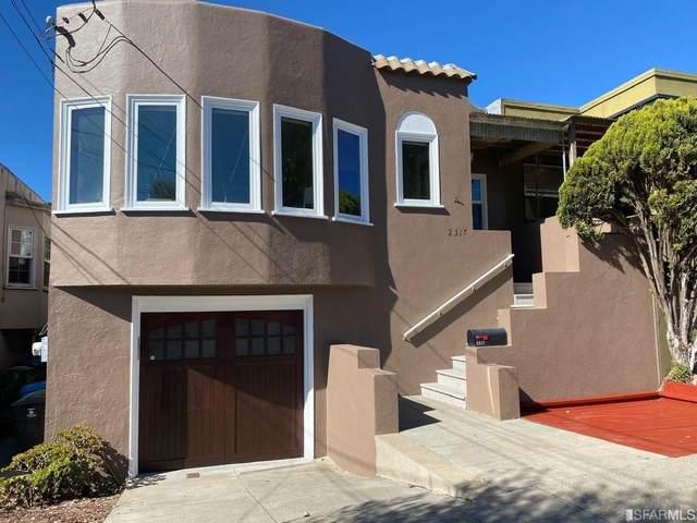 2317 29th Avenue, San Francisco, CA 94116 (#508374) :: Corcoran Global Living